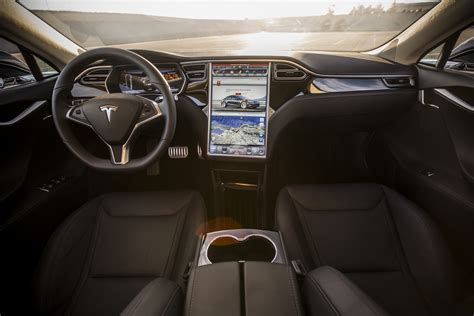 Tesla S Model Interior by P85d Dash Tesla Model S Interior P85d Interior Car