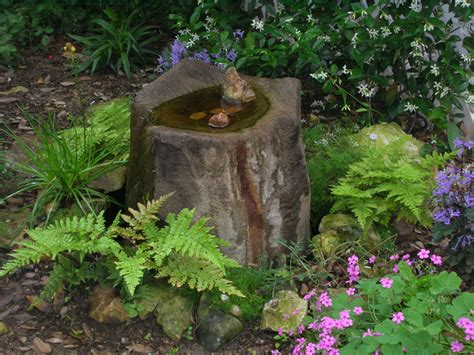 Water Feature Gardens Ideas Home Style Choices How To Build A Water Feature