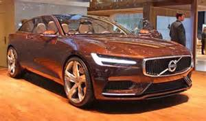 Volvo S90 Concept 2016 Volvo S90 Redesign Changes And Concept