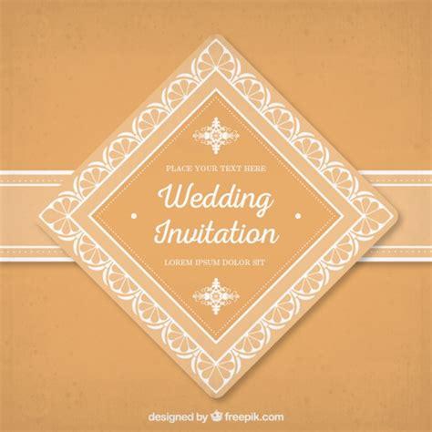 Wedding Invitation Labels by Orange Wedding Invitation Label Vector Free