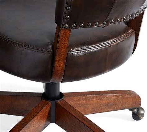 Elliot Swivel Desk Chair Pottery Barn Pottery Barn White Desk Chair