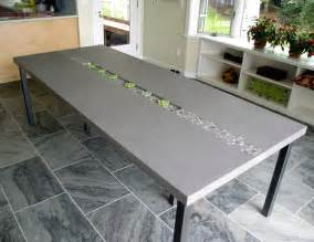 Concrete Kitchen Tables Concrete Rock Dining Table By Trueform Concrete Contemporary Dining Tables New York By
