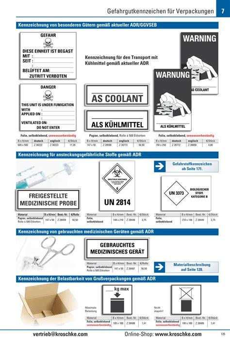 Kennzeichen Aufkleber Pdf by Verpackungs Kennzeichen F 252 R K 252 Hlmittel Folie
