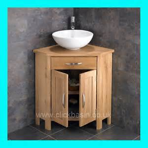 corner bathroom sink and cabinet carva solid oak corner door bathroom cabinet