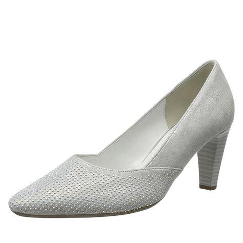 Schuhe Silber Hochzeit by Gabor Damenschuhe Pumps Samt Silber Preiswerte