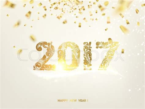 happy new year card template happy new year card gold template gray background