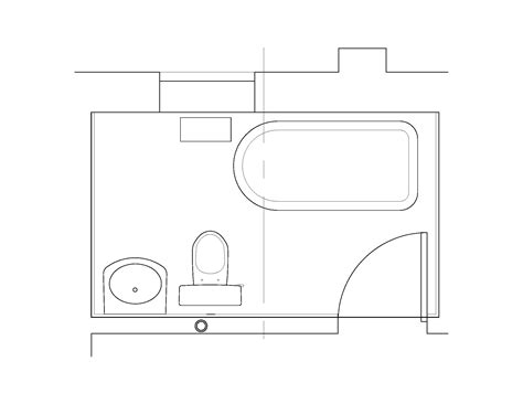 floor plan of bathroom bathroom exg plan