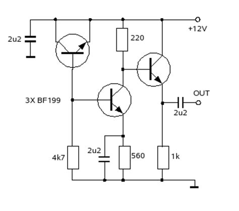 avalanche diode noise source a simple hf noise generator