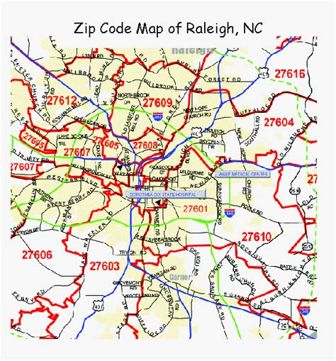 Zip Code Maps Free, Full Color and Printable