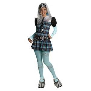 halloween monster high costumes new womens cute frankie stein monster high doll