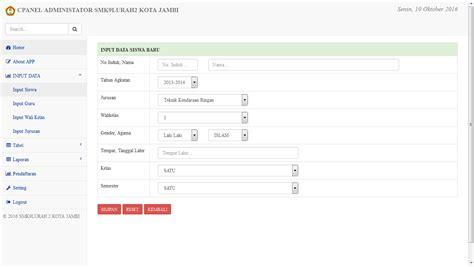 code source codeigniter source code aplikasi sistem informasi nilai berbasis
