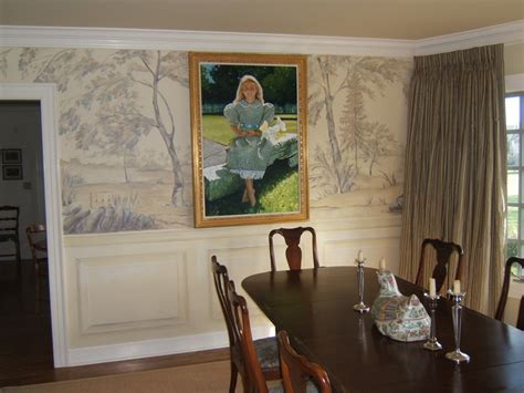 dining room murals grisaille murals traditional dining room cincinnati