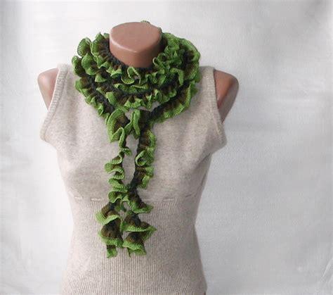 crochet ruffle scarf www pixshark images galleries