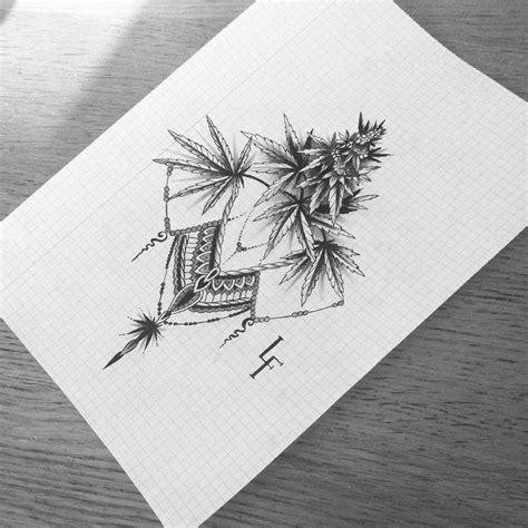 tribal cannabis tattoos 25 best ideas about marijuana on