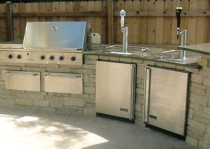 Pagosa Peak Custom Fireplaces Durango Colorado Updates Outdoor Kitchen With Kegerator