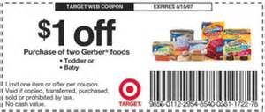 gerber gear coupon coupon practically free gerber baby food mamanista