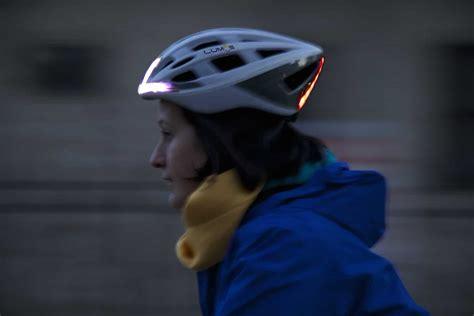 light up bike helmet lumos light up bike helmet keeps cyclists safe during the