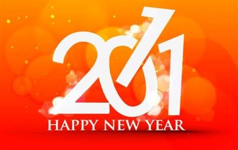 Happy New Year 3 by Happy New Year 2011 Template 3 Vector Free