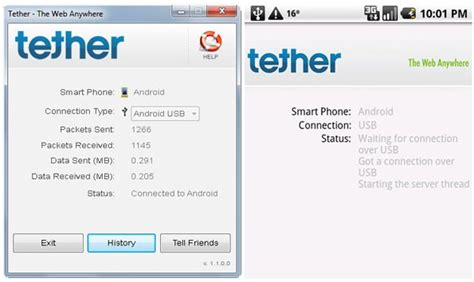 tethering app for android tetherberry launches android tethering beta test called simply quot tether quot eurodroid