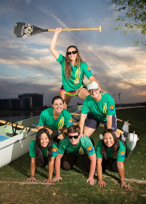 Arizona State Carey Mba Alumni Relations Staff by Asu Alumni Staff Win Silver In International Outrigger