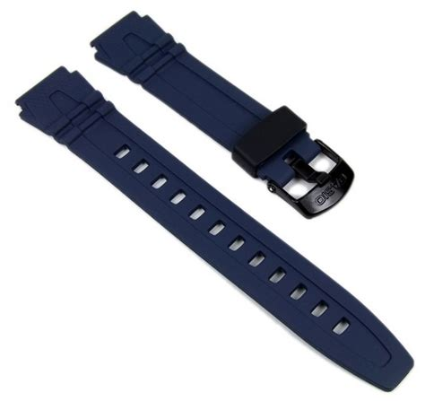 Casio Hdd 600c 2av casio ersatzband uhrenarmband resin band 18mm blau hdd