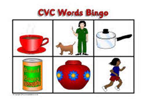 cvc words bingo sb3400 sparklebox