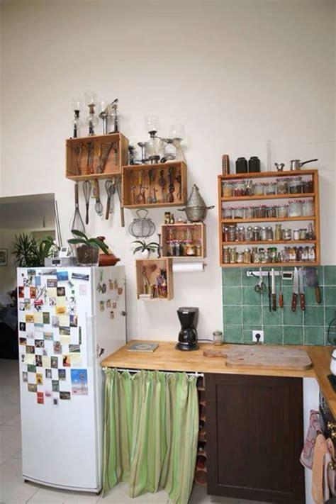 idee etagere cuisine id 233 e am 233 nagement cuisine 233 tag 232 re caisse bois vin id 233 es
