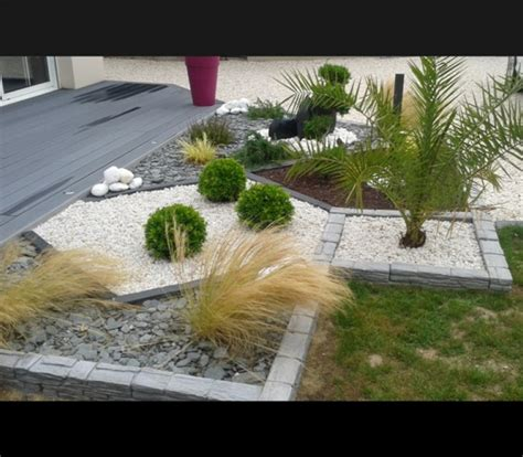 galet decoration jardin deco jardin avec galets