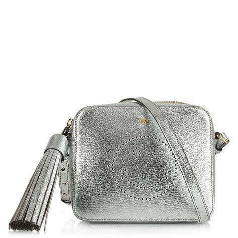 Small Crossbody Bag anya hindmarch smiley silver leather small crossbody bag