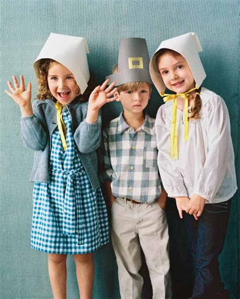 How To Make Paper Pilgrim Hats - paper pilgrim bonnet martha stewart