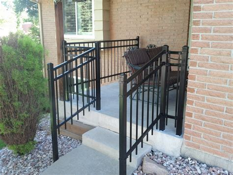 Metal Porch Rail steel porch railing