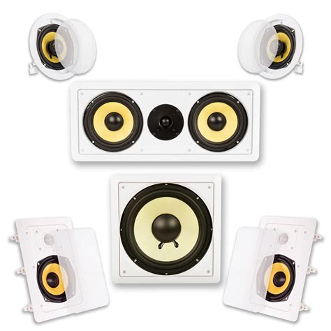 acoustic audio hd 515 in wall ceiling home theater
