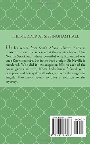 libro the murder at the libro the murder at sissingham hall di clara benson