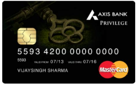 Credit Card Form Of Axis Bank Axis Bank Privilege Credit Card Review Cardexpert