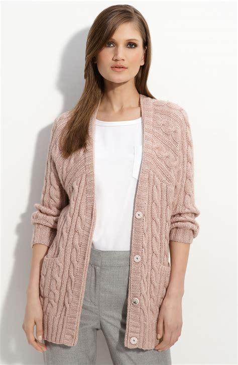 Tas Hardcase Pocket Digital Denim cable knit boyfriend sweater sweater
