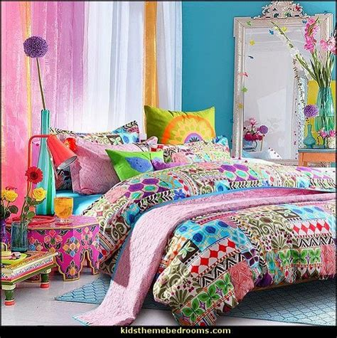 hippie bed comforters unique bohemian bedding exotic ethnic modern duvet cover