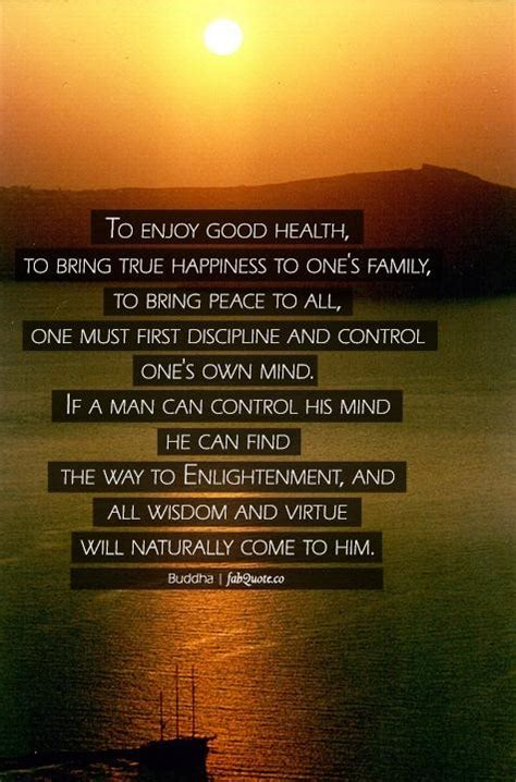 buddha  enjoy good health  happiness quote collection  inspiring quotes sayings