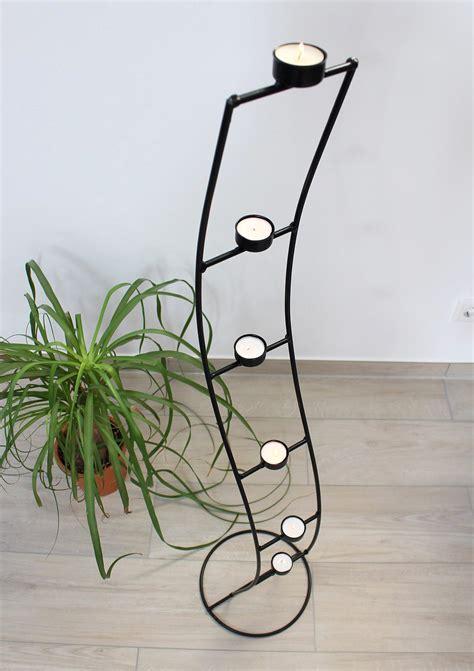 teelichthalter kerzenleuchter teelichthalter sw102 aus metall 120 cm kerzenleuchter