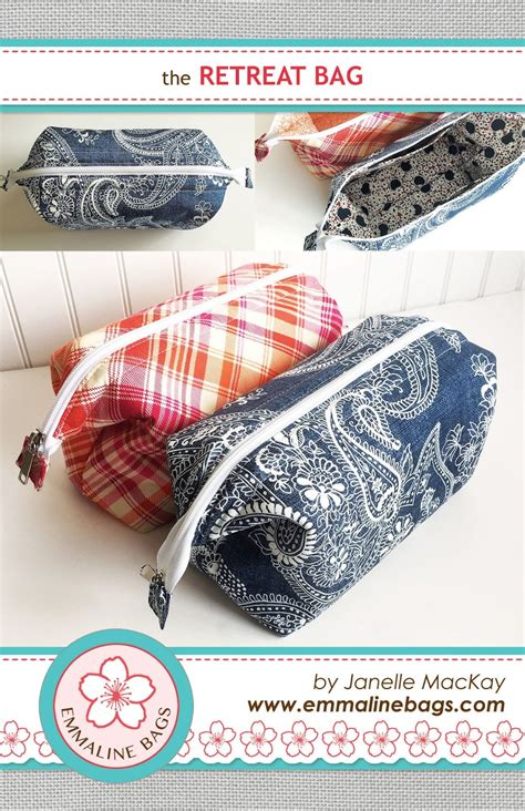 pattern sewing tutorial emmaline bags sewing patterns and purse supplies the