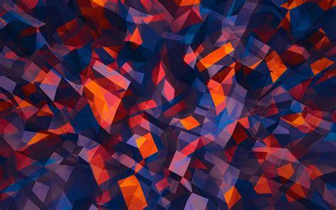 desktop wallpaper shapes colorful shapes hd desktop wallpaper widescreen high