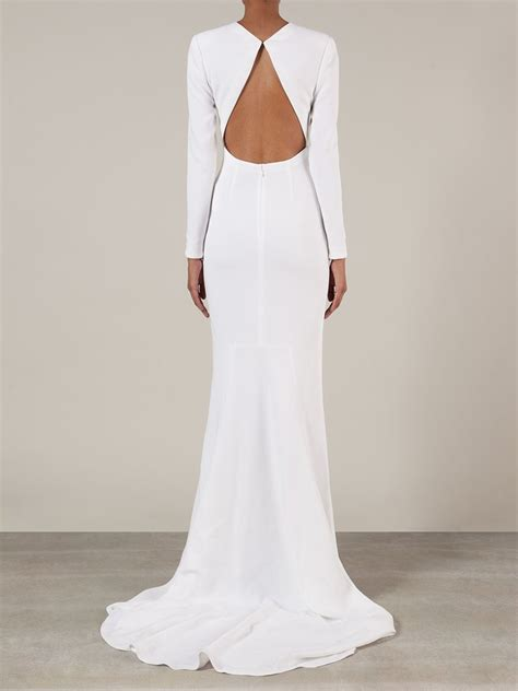 White Bridal Gowns by Lyst Stella Mccartney Bridal Gown In White