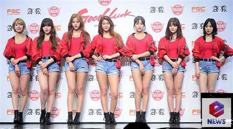 Aoa Luck 4th Mini Album photo aoa holds showcase for 4th mini album luck
