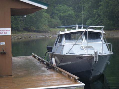 aluminum fishing boat seattle 24 canadian custom aluminum fishing boat outside seattle