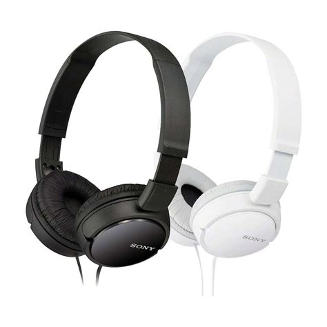 Headphone Mdr Zx110 sony mdr zx110 folding the headphones 7dayshop