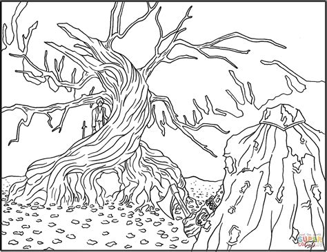 The Nightmare Before Christmas Coloring Pages Coloring Home Nightmare Before Coloring Pages For Adults