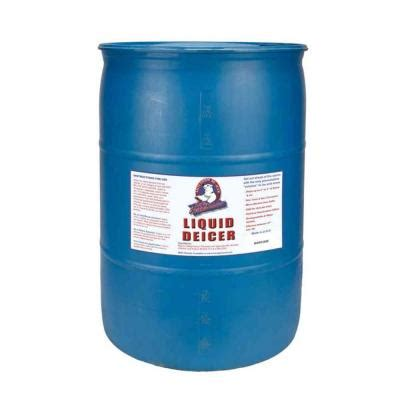 bare ground 55 gal liquid deicer drum bg 55d the home depot