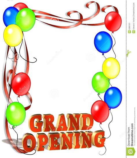 opening soon flyer template grand opening sign template stock image image 6380101