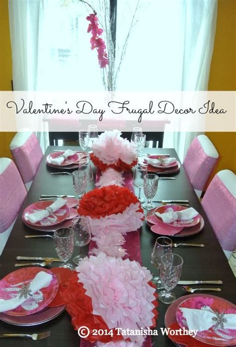 valentines day table decor frugal valentine s day table decor ideas valentines