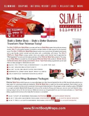 Detox Wrap Minneapolis by Slim It Fuzion Wrap By Nuage Usa
