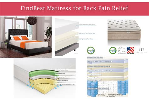 best bed for back pain best mattress for back pain relief